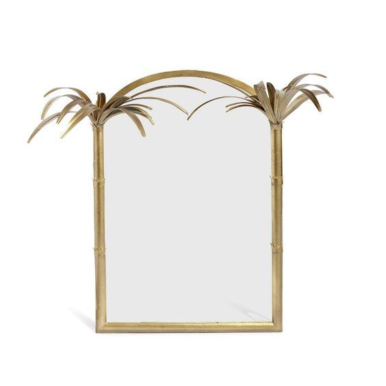 palm mirror frame