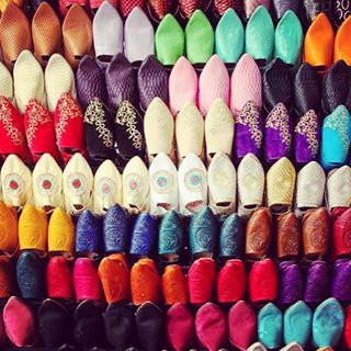 Have you ever tried the most comfortable handmade slippers in the world? You'll find it hard to choose the most #stylish #babouches slippers but they are so cheap you can have one for each day! Check our #wonderful Shopping Experience in the Moroccan Souks and discover much more of Moroccan's unique traditions and way of life ! 😏🌴 #deal #morocco #medina #bargain #marrakech #jlo #saharatoursinternational #style #original #shopping #tour #love #life with #colours #travel #colors #holiday #bestdestination
