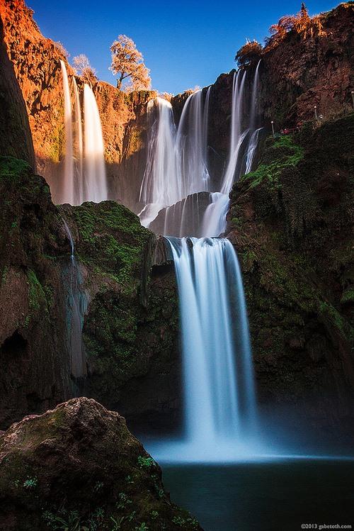 Waterfalls of Morocco