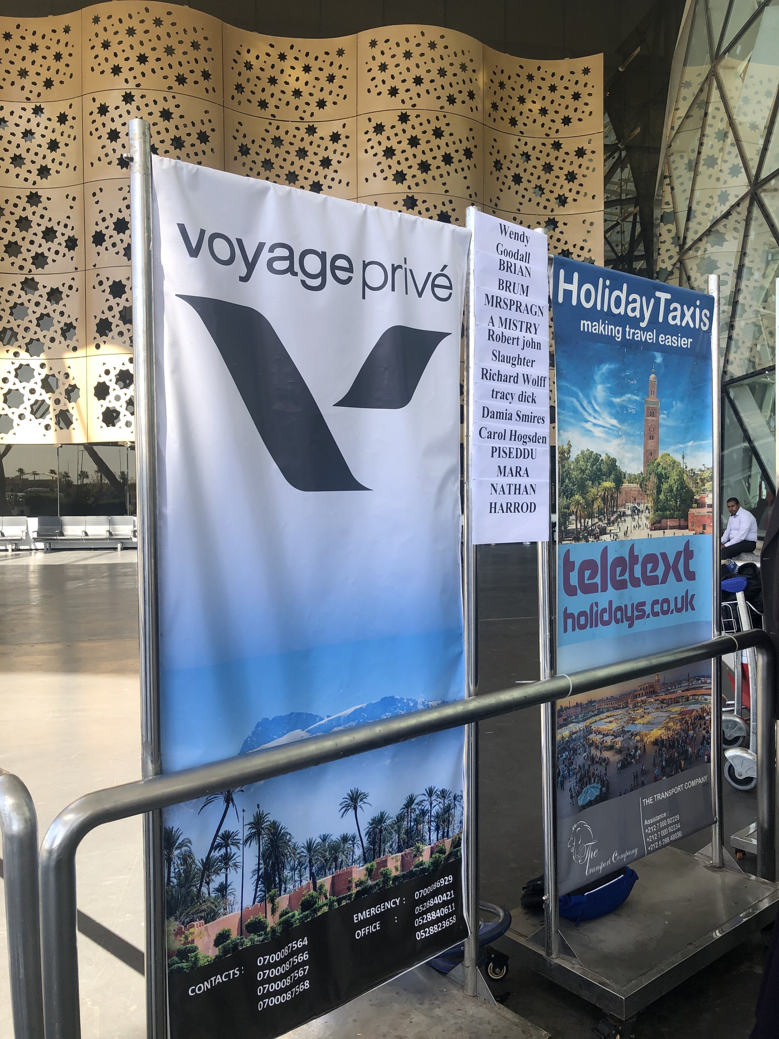 Meet our team upon arrival and collect your Welcome Letter ! - Just outside the Arrival Terminal on your right you will find our team next to our partner's banners.