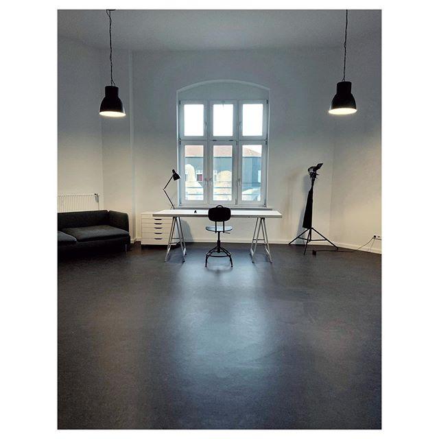 Studio with a view 🖤. #artistinresidence #berlin #artiststudio #berlinartist