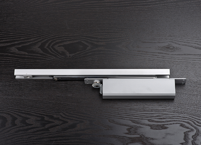 Concealed Door Closer with Sliding Rail
