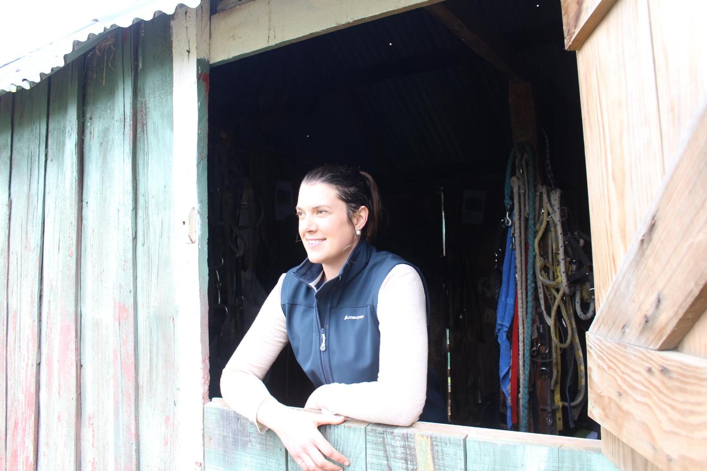 Kimberley facilitates the communications/ teambuilding workshop at her property at Makoura Lodge.