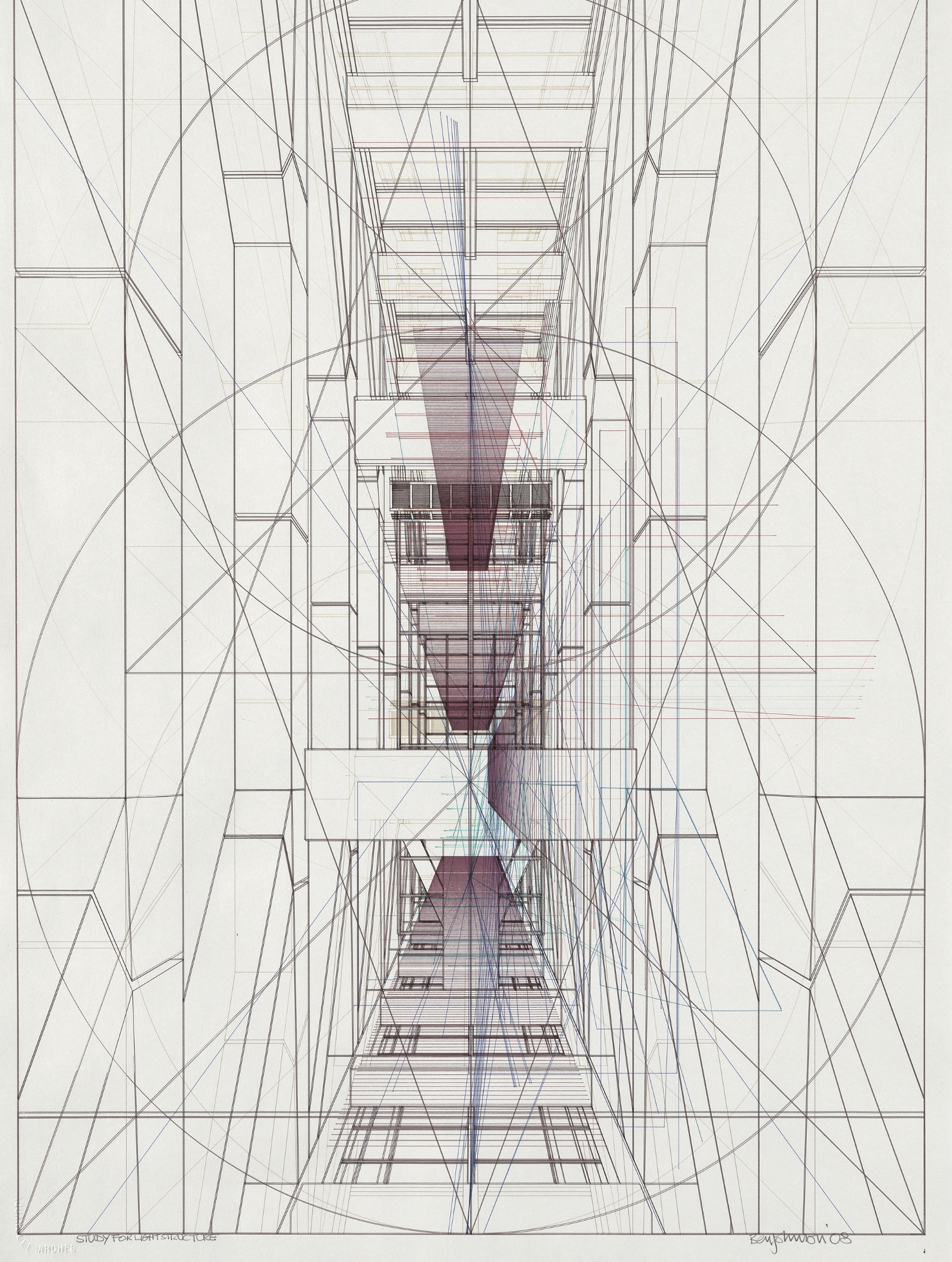 Study for Light Structure
