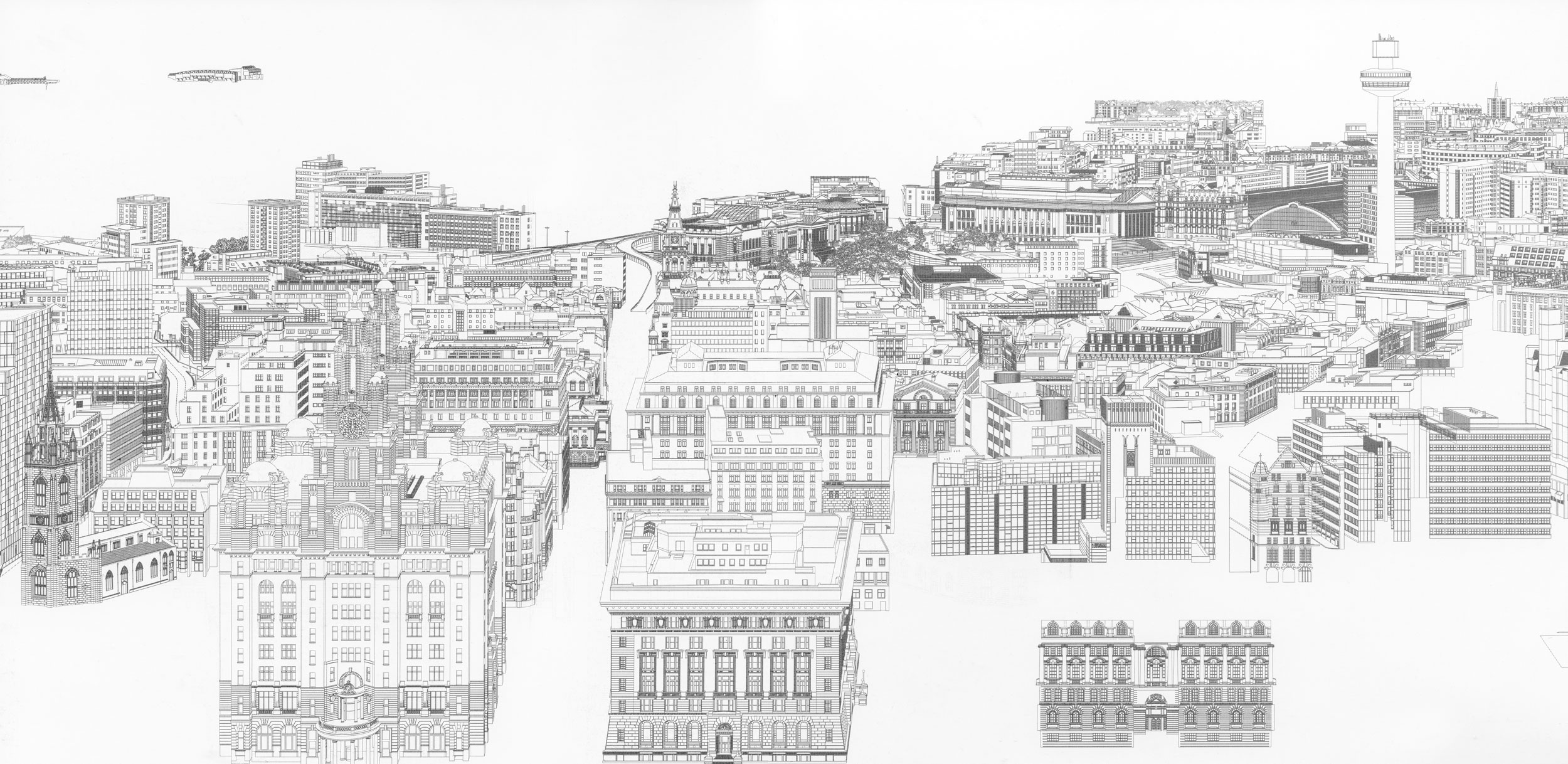 Liverpool (detail - in progress)