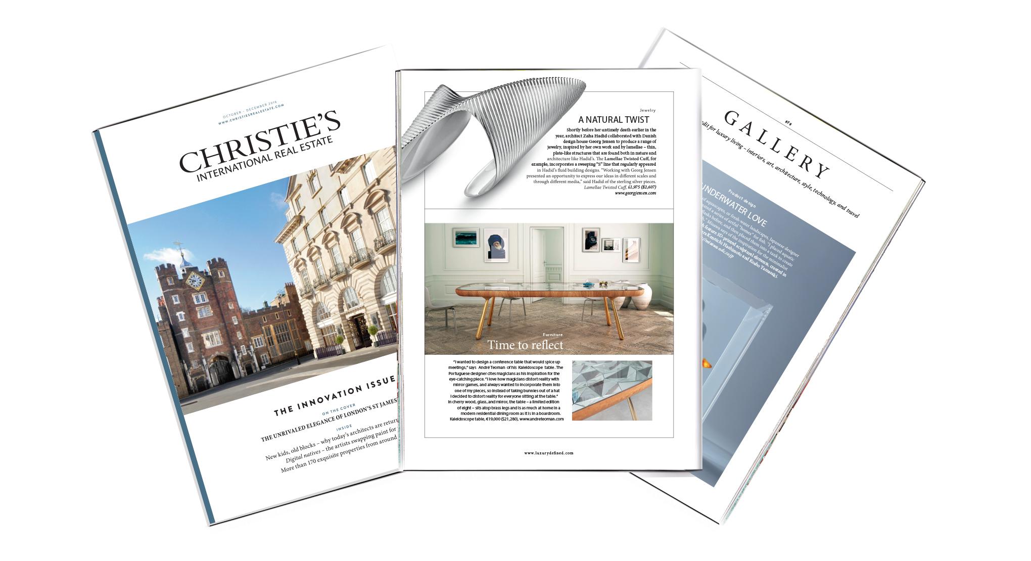 Christies magazine