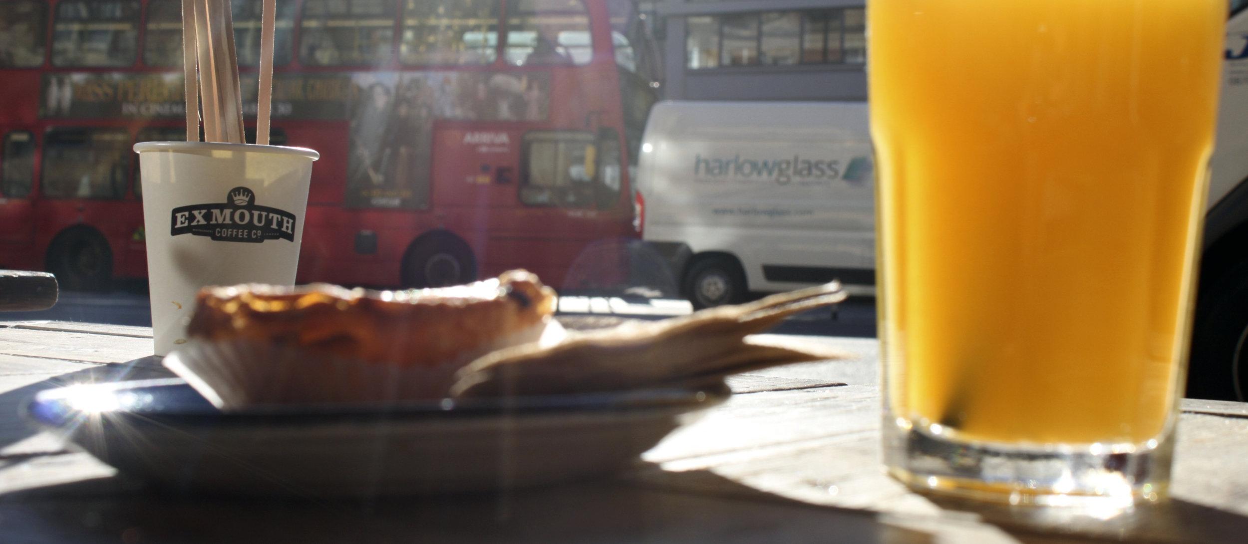 London Breakfast tent london design festival