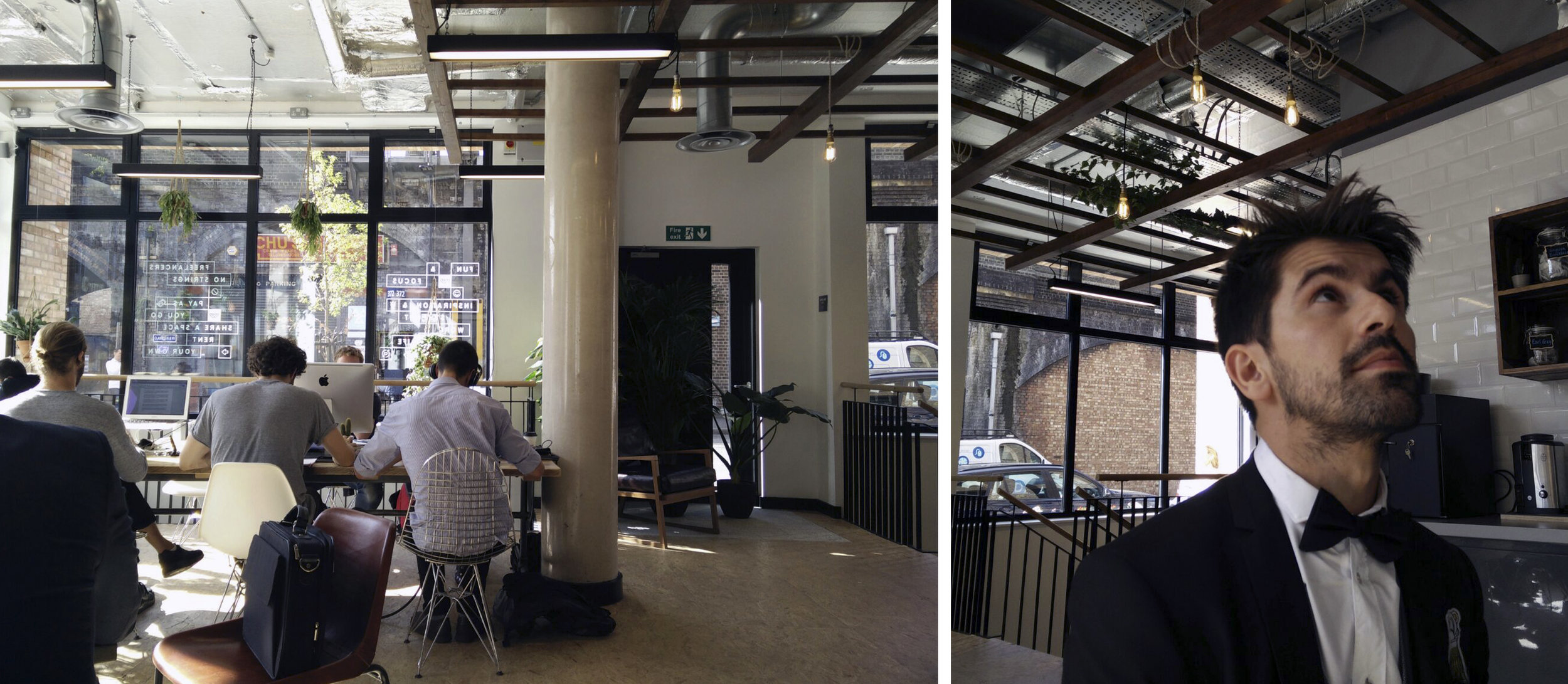 At the Coworking space of Mucho