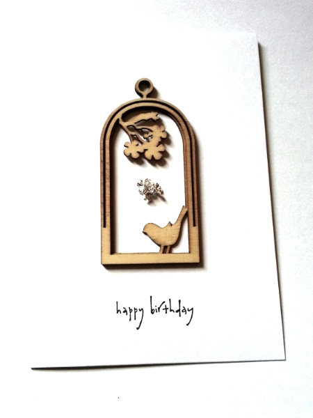 Happy Birthday Birds - Tio