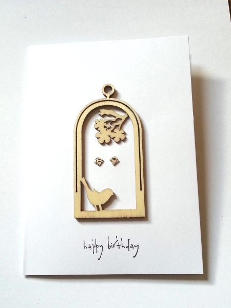 Happy Birthday Birds - Off Cuts