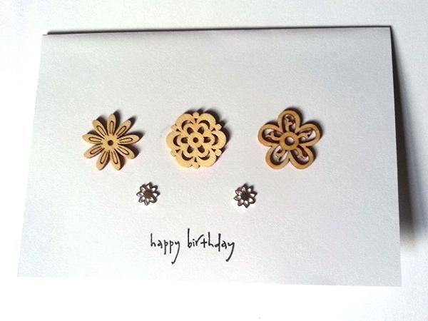 Flower Happy Birthday - Lotus Style Studs