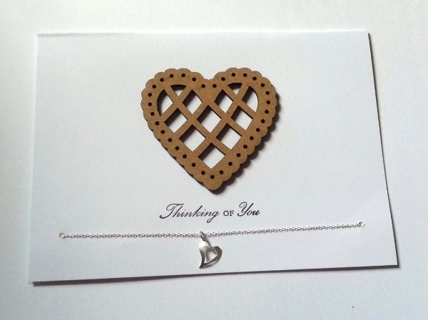 Heart thinking of you - Heart Pendant