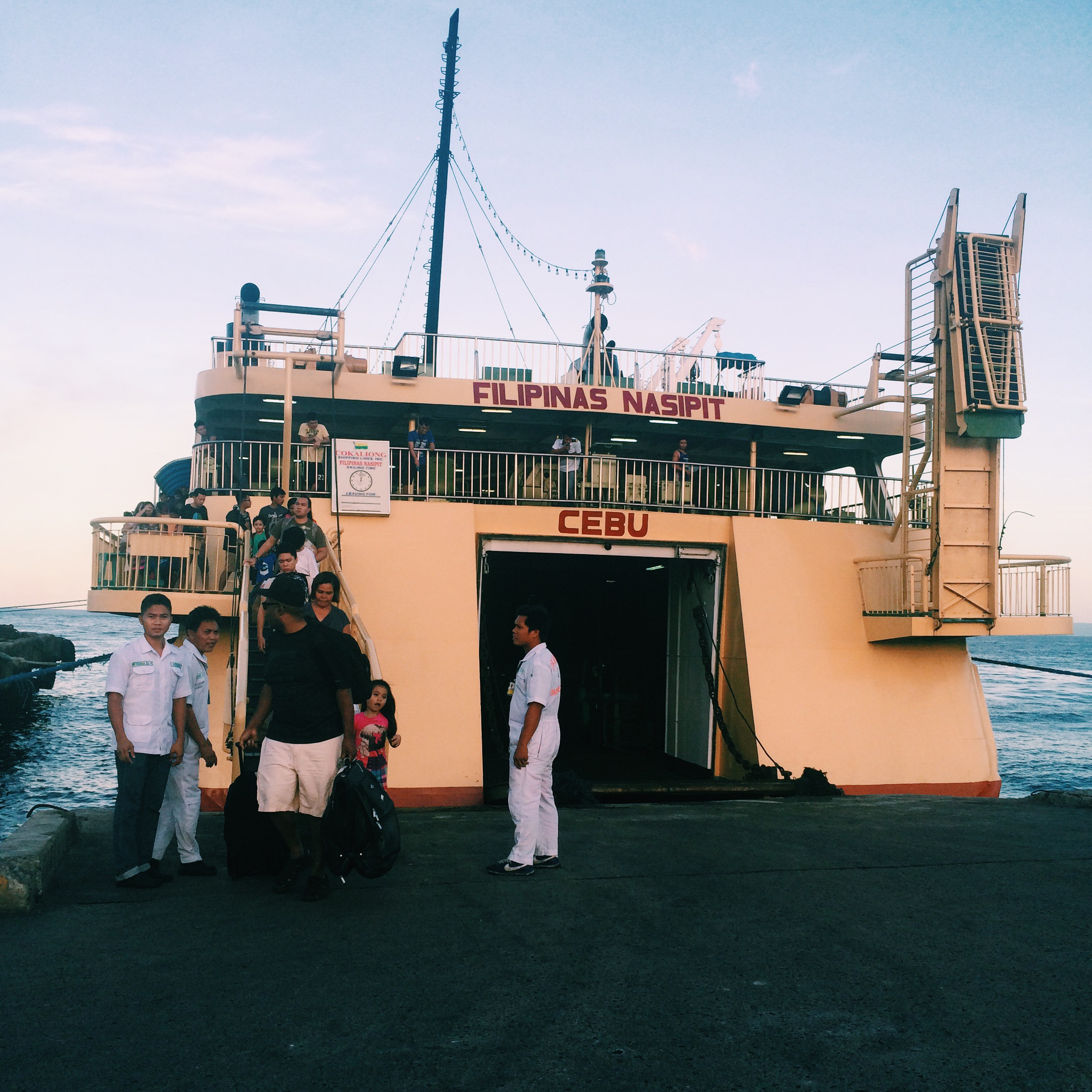 ship from Cebu to Dumaguete