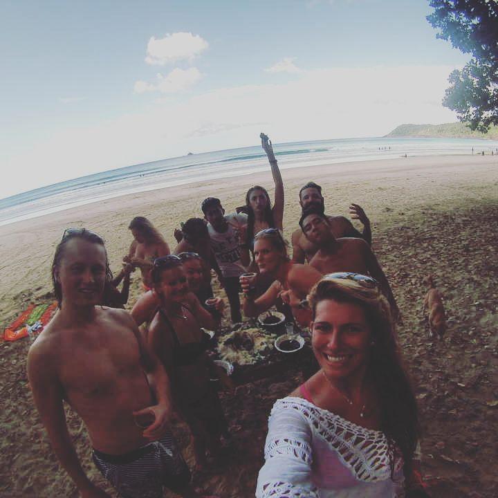 group selfie at Nagtabon!