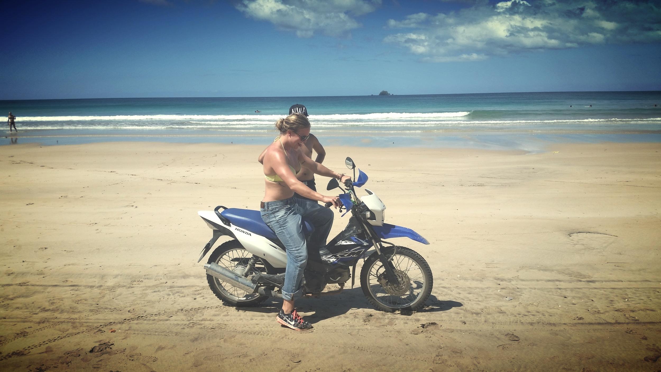 motorbike lessons!