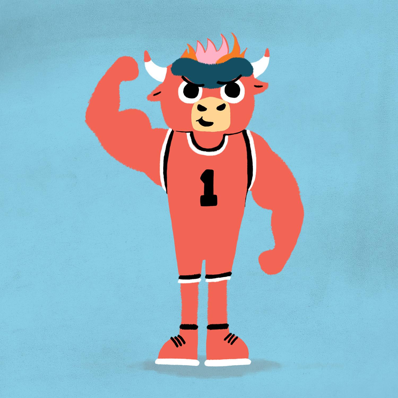 benny-the-bull-02-chicago-bulls-character-design