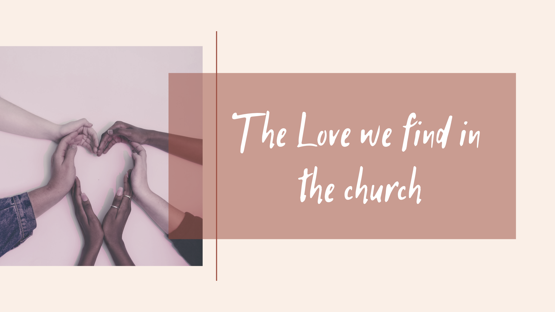 ICA Kyiv Sunday, June 2, 2019. The Love we find in the church