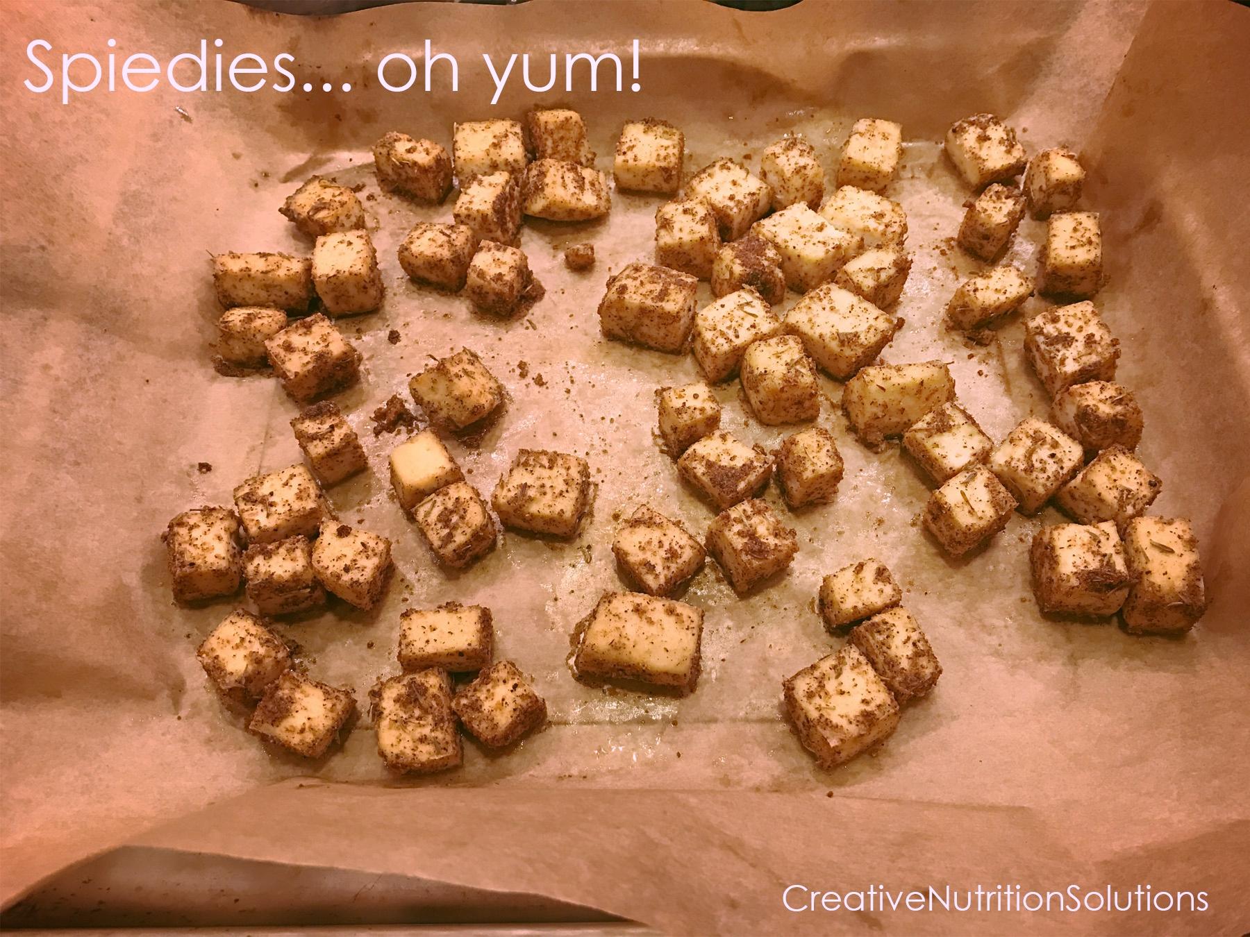Tofu Spiedies... oh yum!