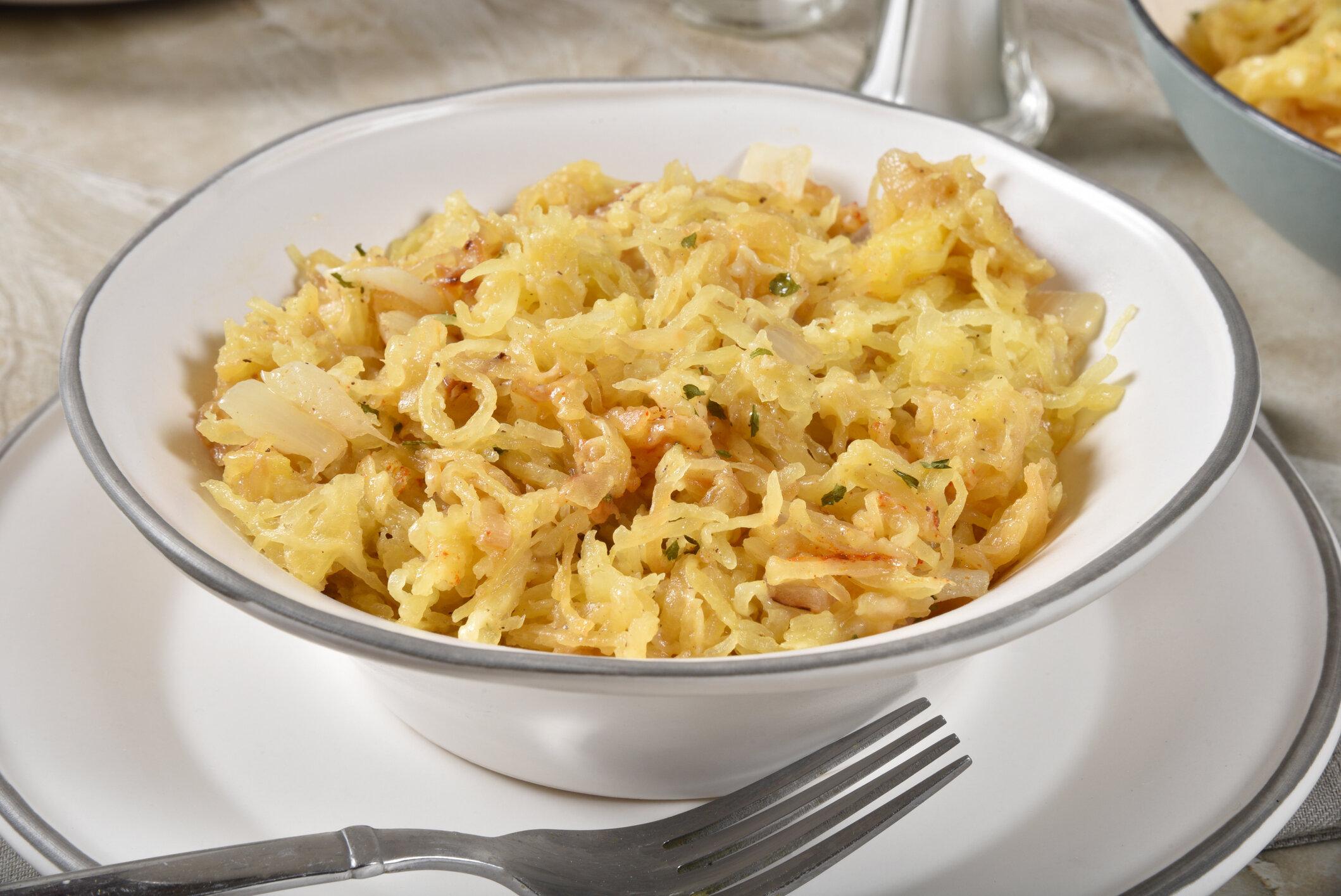 Garlic Parmesan Spaghetti Squash - Image Source: iStock