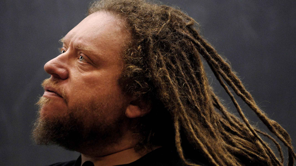 meet Jaron Lanier. his dreadlocks aren't impressed with how many hits your lifestyle blog got last week after you posted a video of how to correctly fold a fitted sheet.