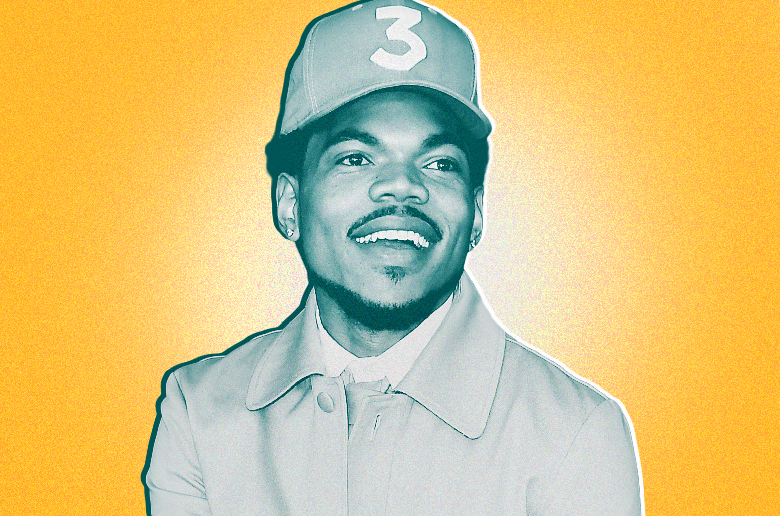 This is Chance the Rapper. He gave 1 million dollars to Chicago Public Schools, fights gun violence in his city, and is a genius.     Read more about him here.