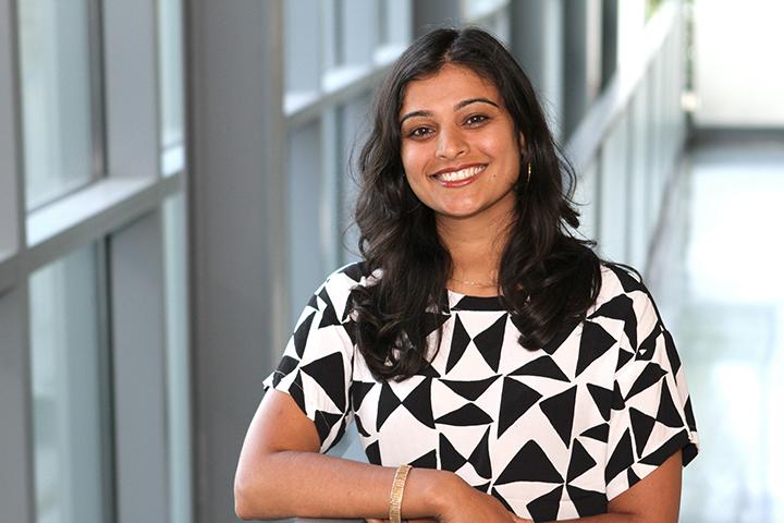 Mili Shah, Ph.D., associate professor of mathematics at Loyola University Maryland (Photo by Loyola University Maryland)