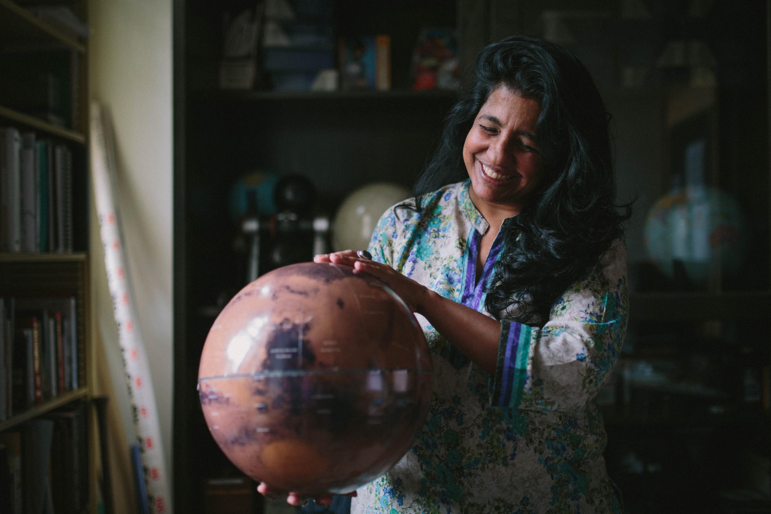 Aparna Venkatesan, chair of USF's physics and astronomy department (Photo: University of San Francisco)