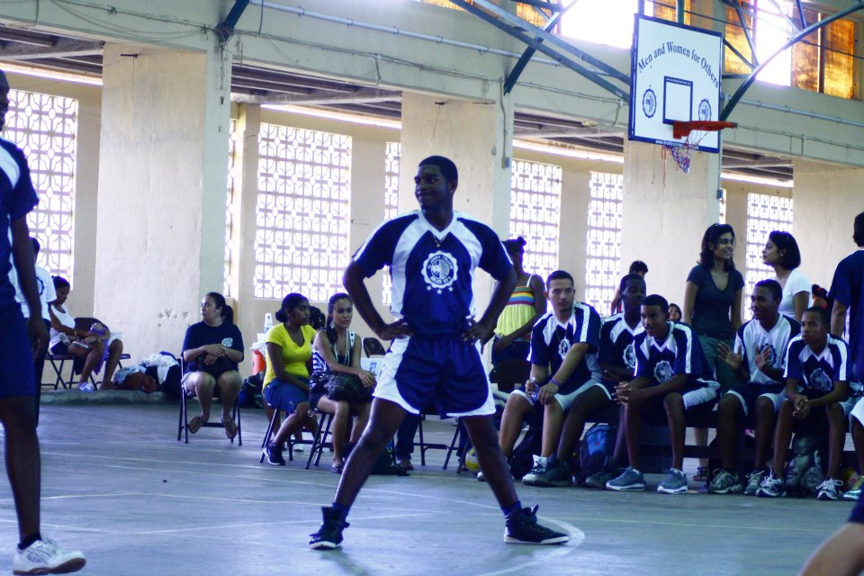 Student-Athletes at ST. John's College in Belize (Photo by Tommy Nagel)