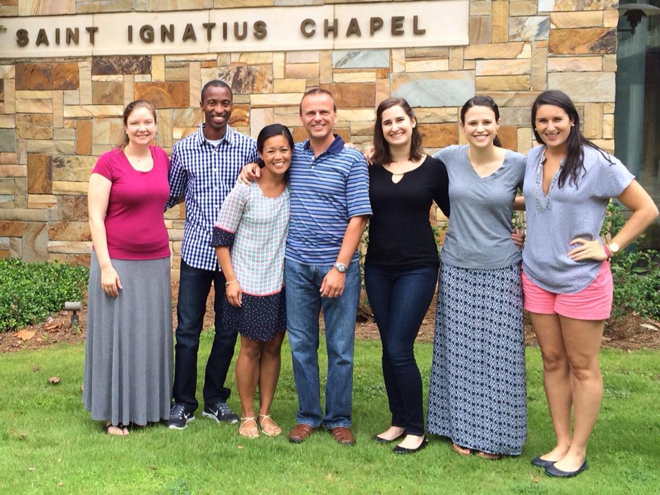 CLA Participants in Atlanta, GA (Photo by The Jesuit Collaborative)