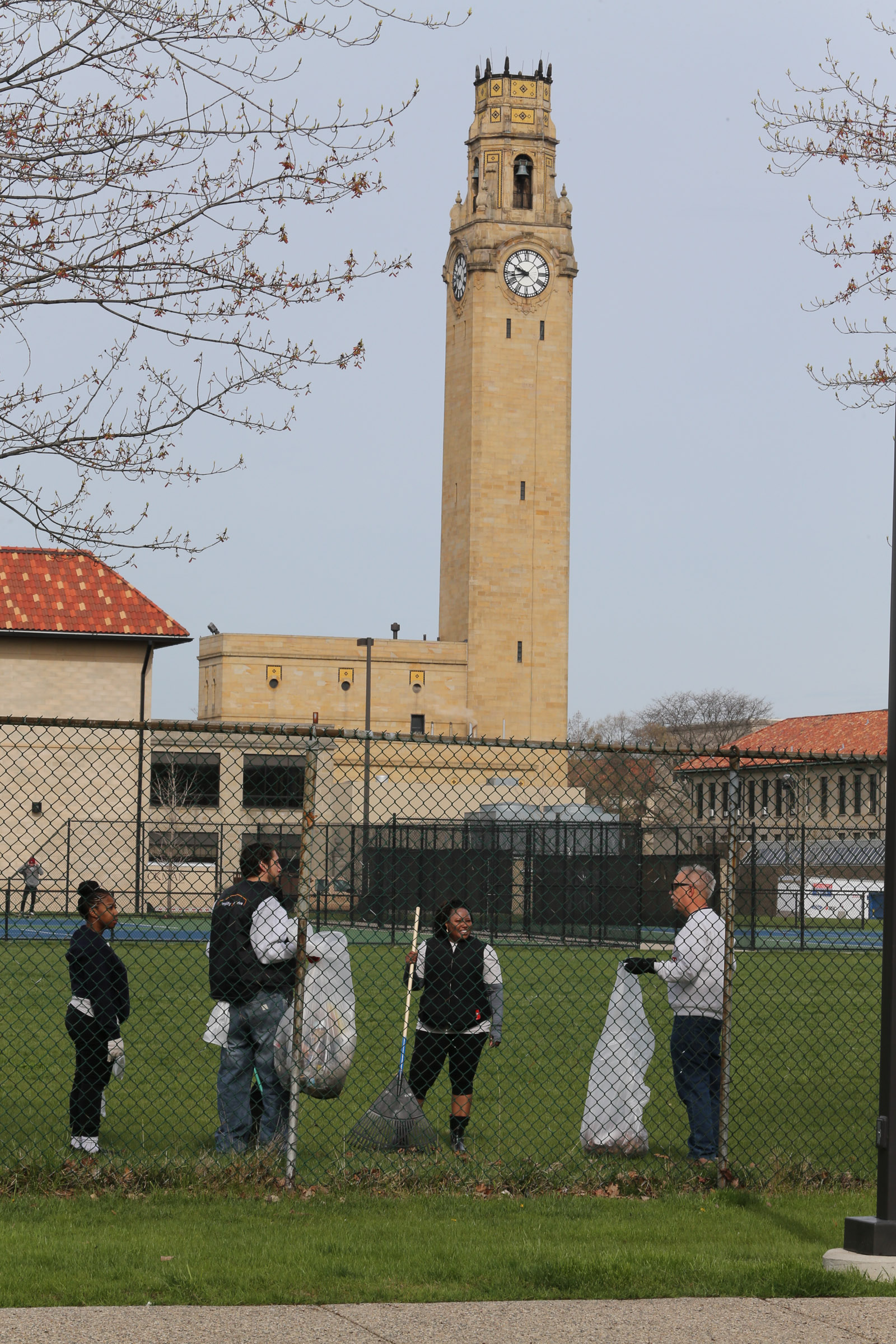 University of Detroit Mercy Jesuit Alumni Service Day: April 30, 2016 (Photo by University of Detroit Mercy)