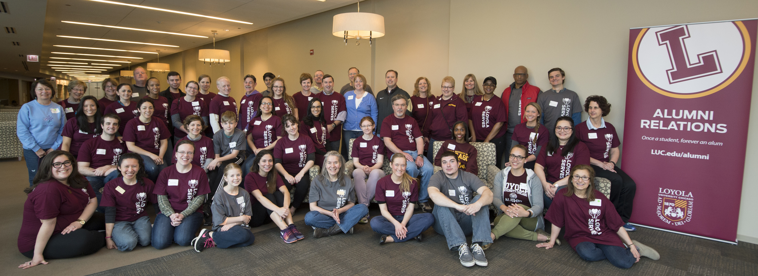 Loyola University Chicago Jesuit Alumni Service Day: April 30, 2016 (Photo by Ray Manrique/Dong Lu for Loyola University Chicago)
