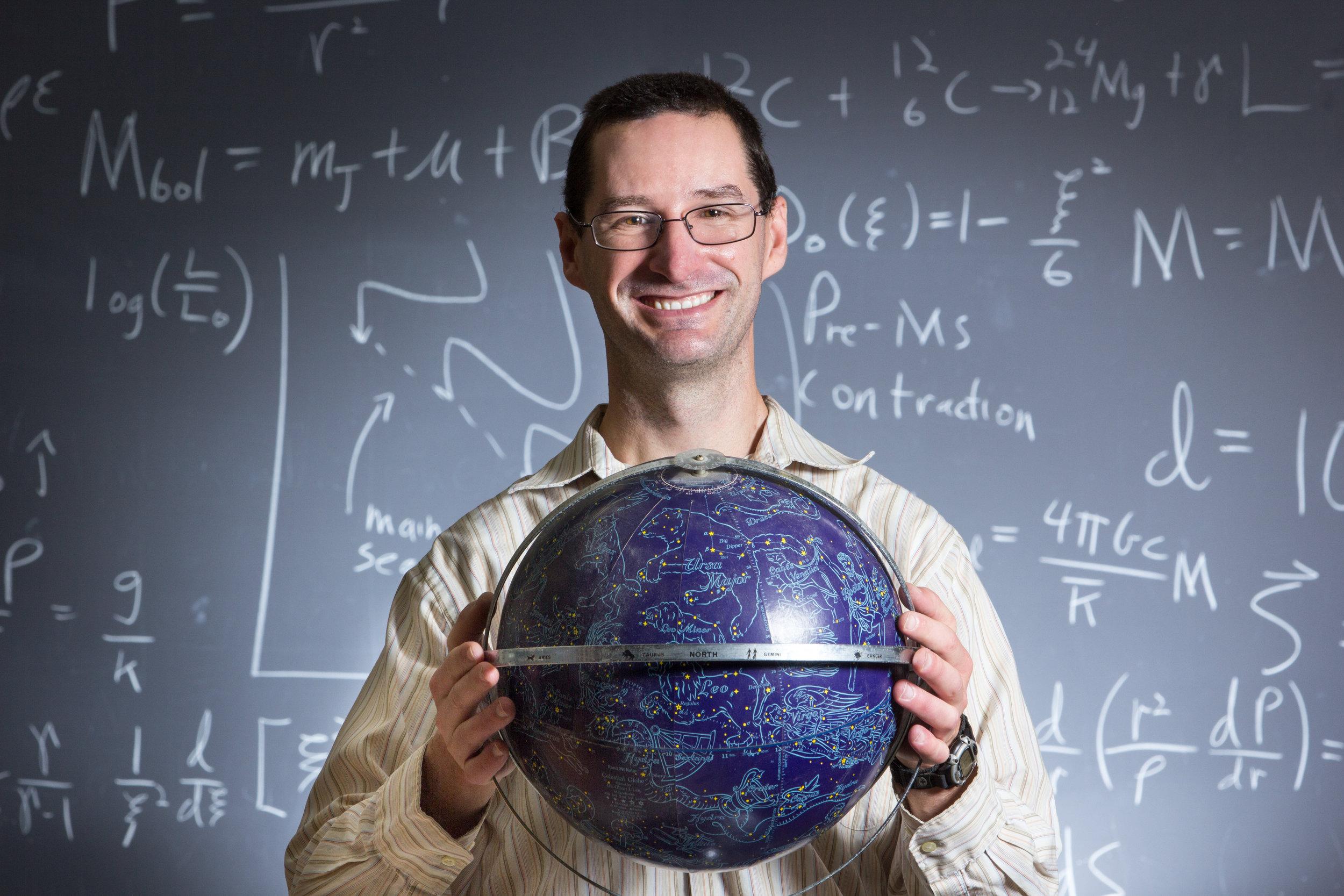 Mark Pecaut, Ph.D. (Photo by Rockhurst University)