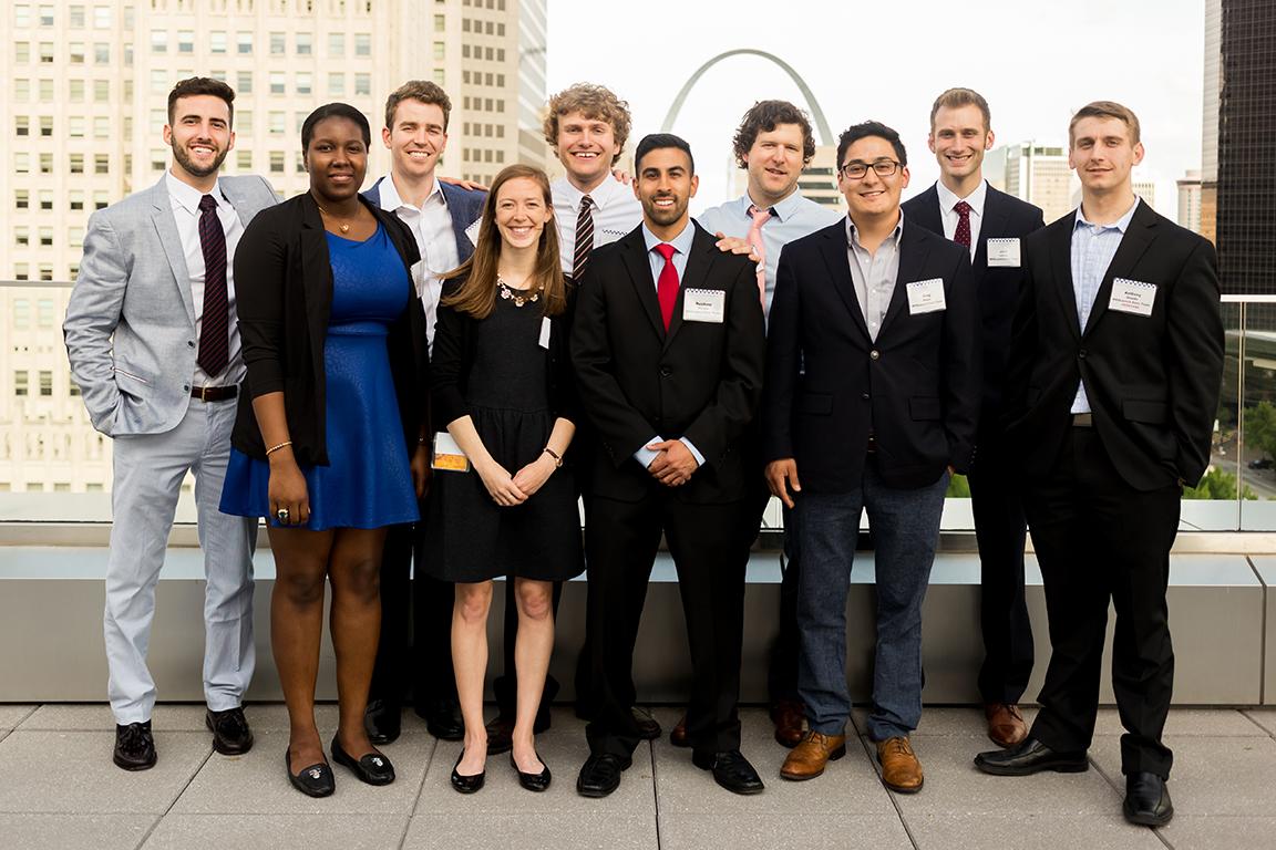 MEDLaunch Executive Team (Photo by Saint Louis University)