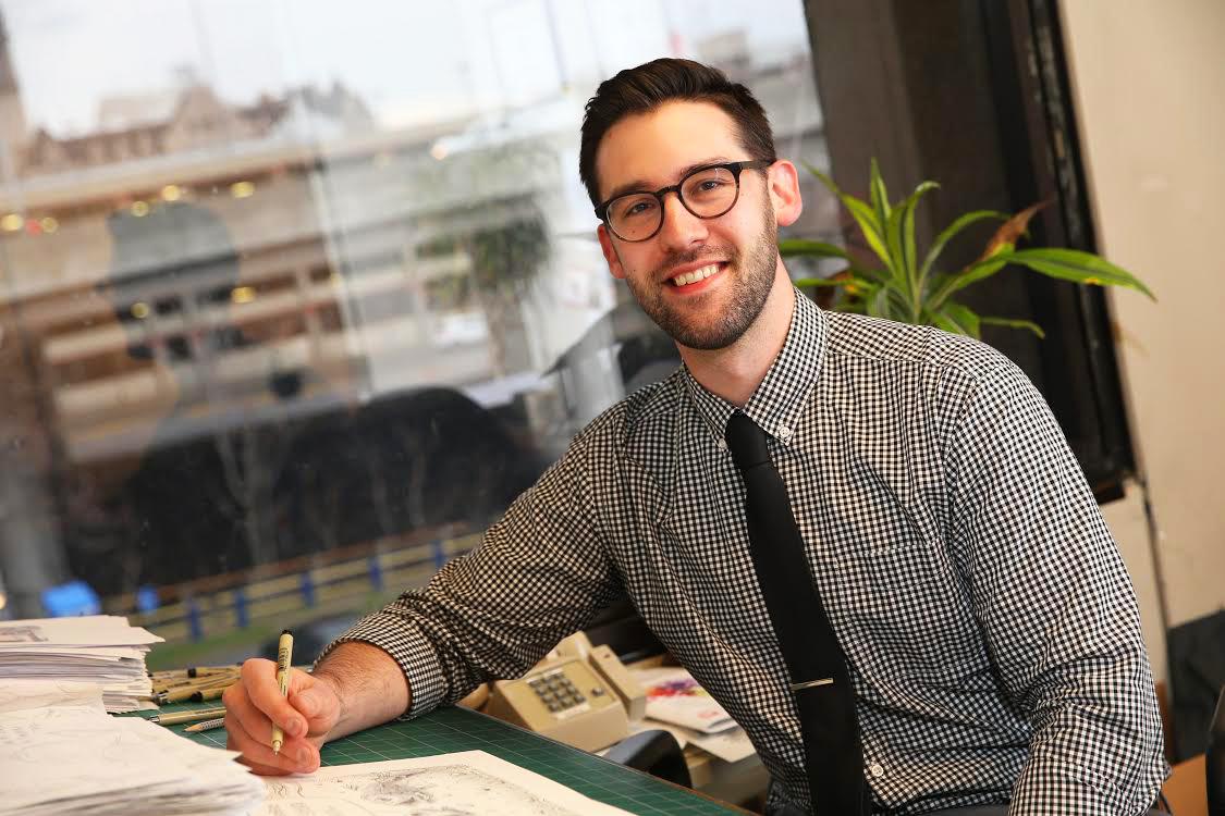 Adam Zyglis (Photo by Canisius College)