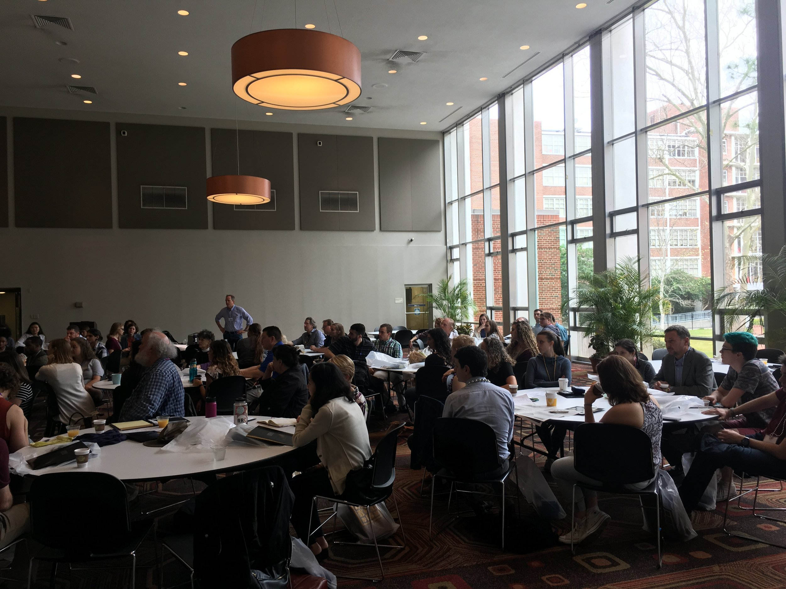 70 students and staff from 17 Jesuit institutions attended the 2017 AJCU Honors Conference at Loyola University New Orleans.