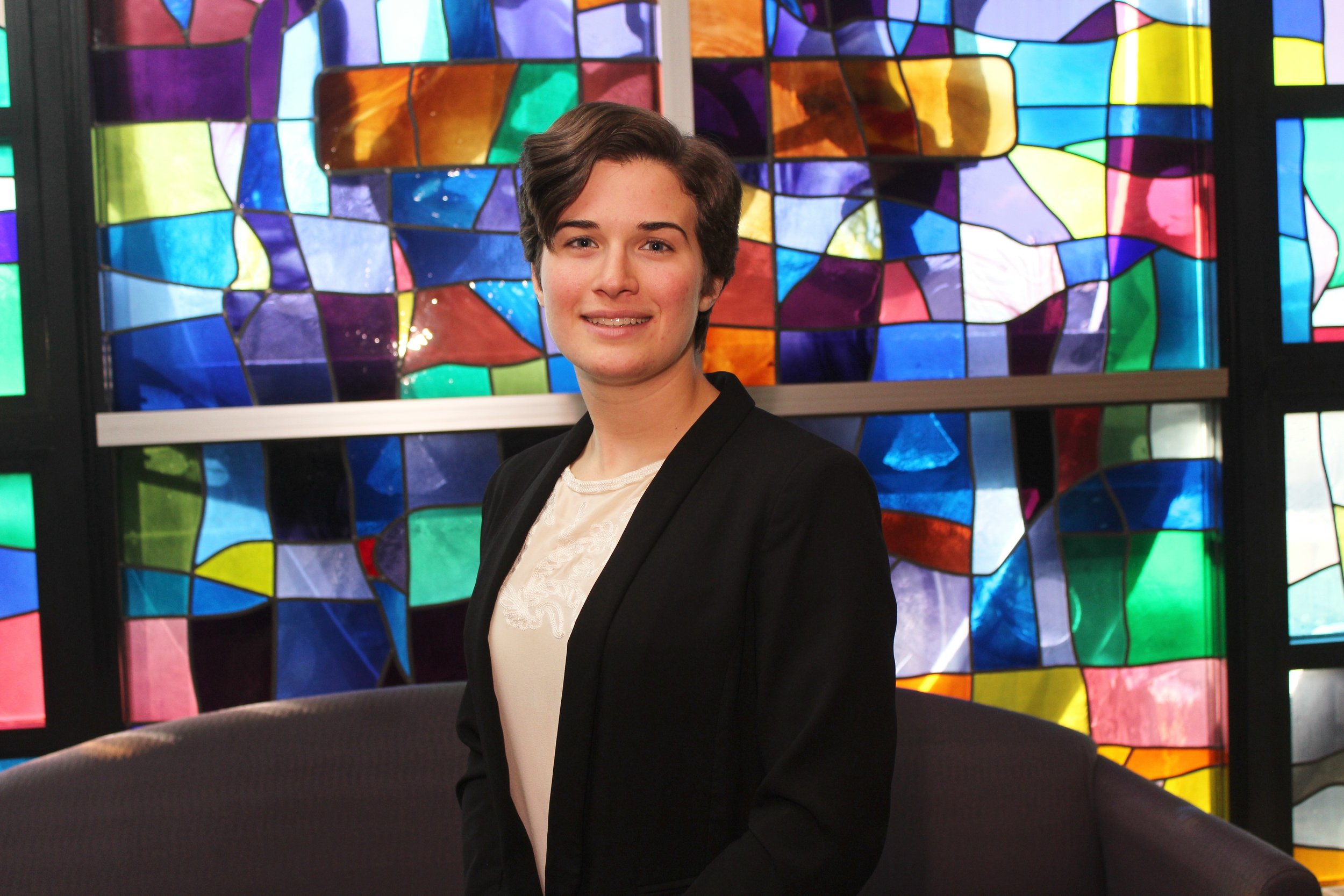 Christa Howarth (Photo by The University of Scranton)