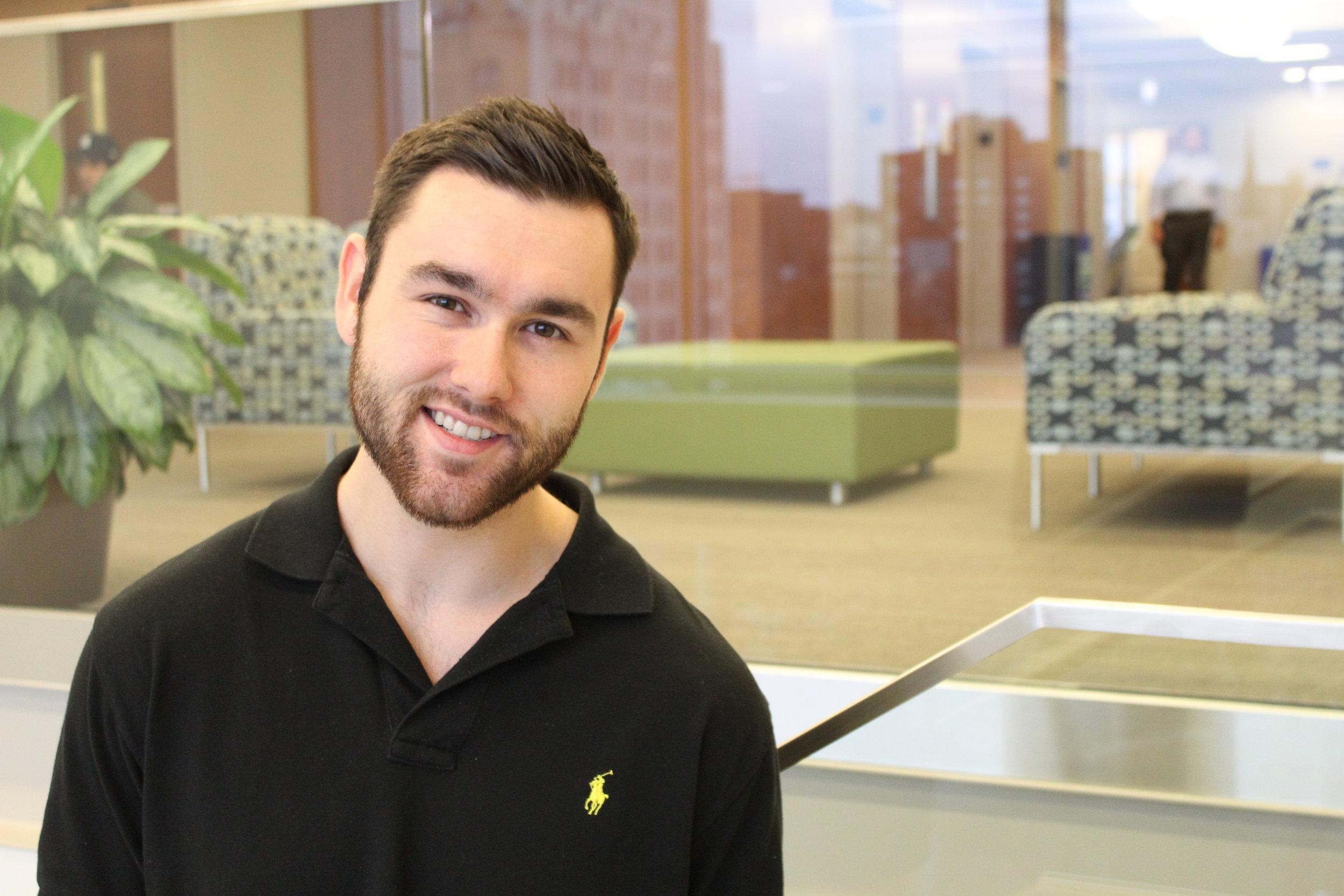 SLU Law Student Alex Lindley (Photo by Saint Louis University)