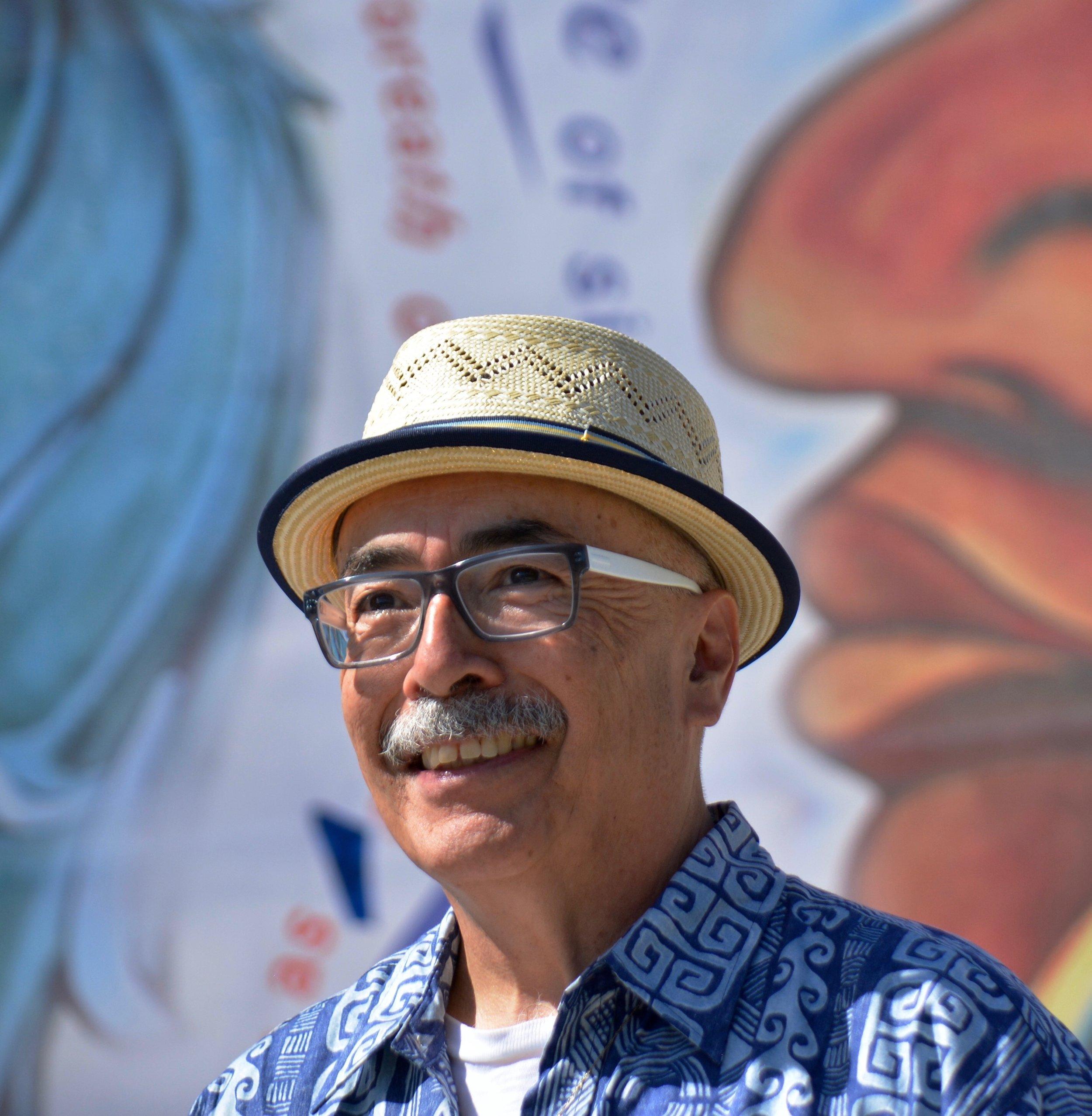 Juan Felipe Herrera(Photo by Carlos Puma/UC Riverside)