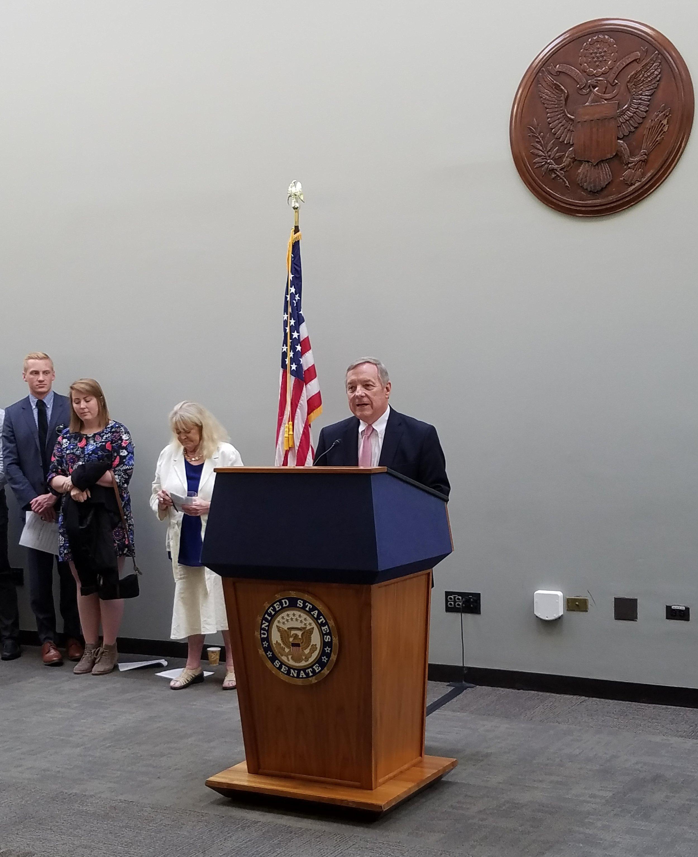 Senator Richard Durbin (D-IL) (photo by Michael Wieczorek)