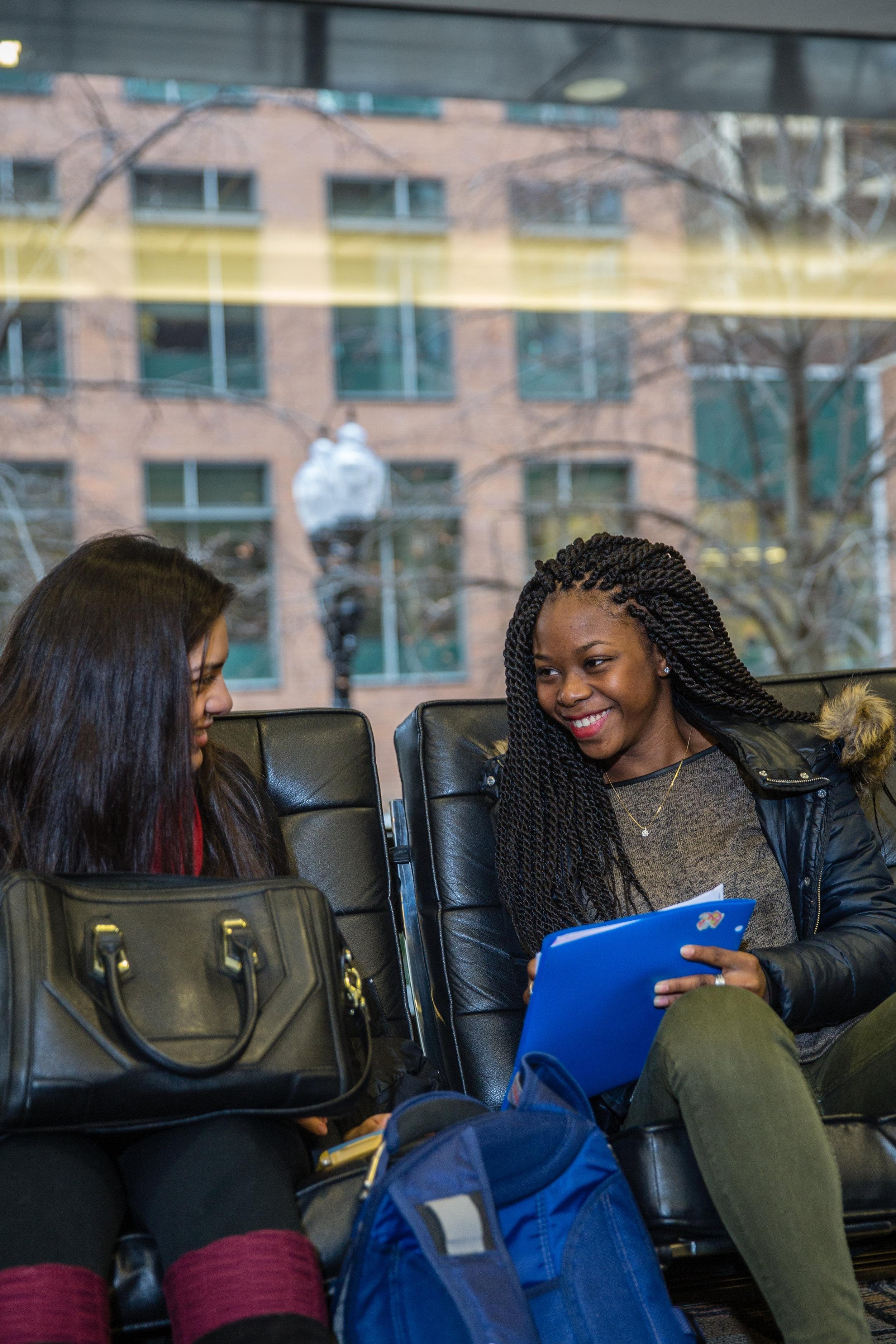 Arrupe College graduate Ramatoulaye Diallo (photo by Loyola University Chicago)