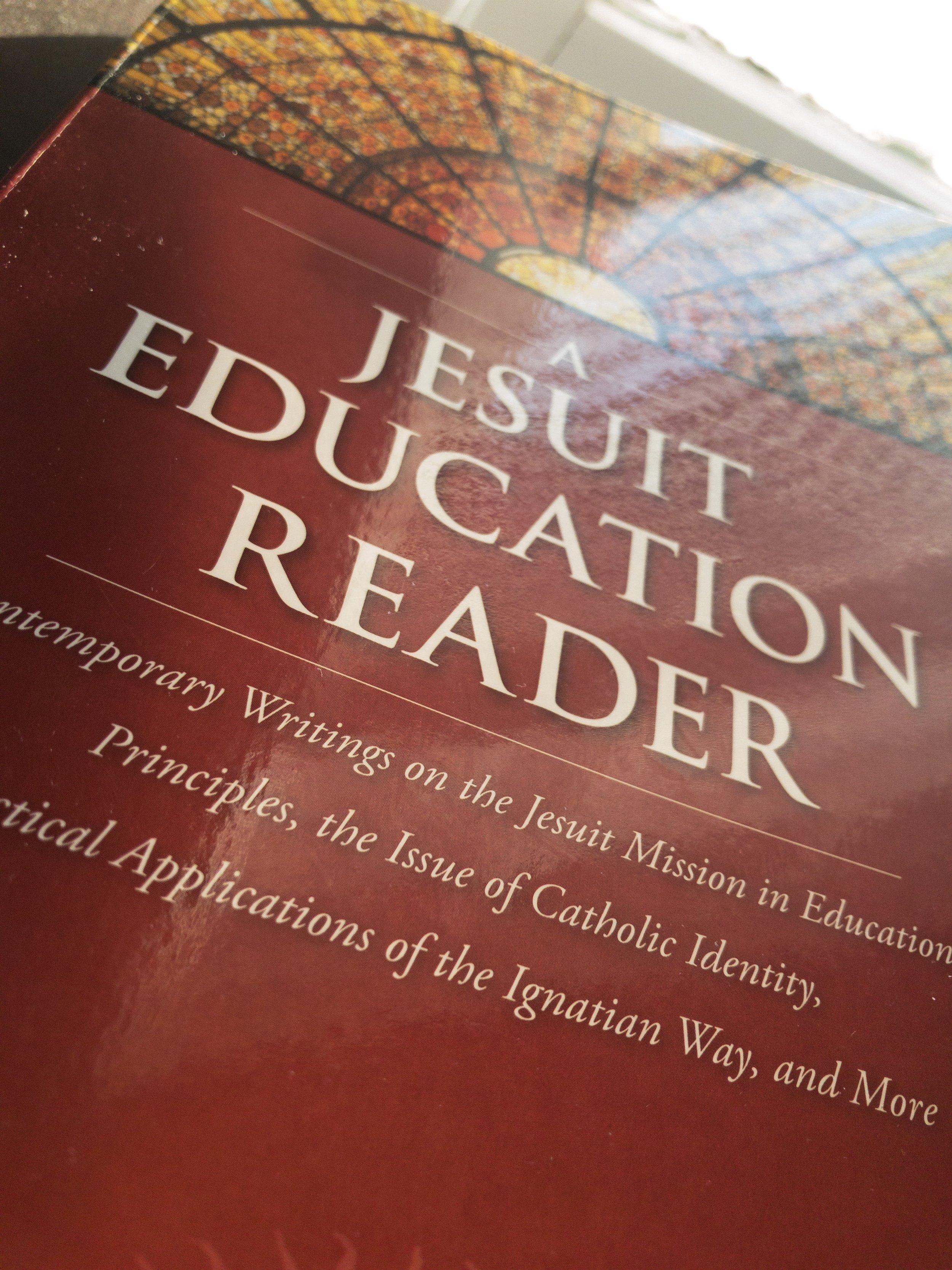 Photo of  A Jesuit Education Reader  Courtesy of Rockhurst University