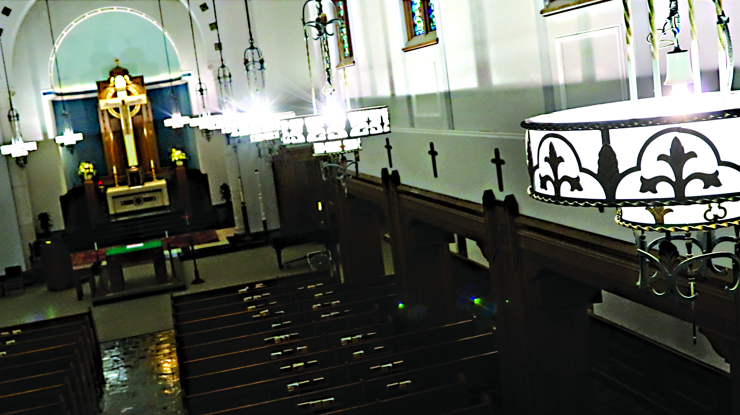 Interior of Christ the King Chapel (photo courtesy of Canisius College)