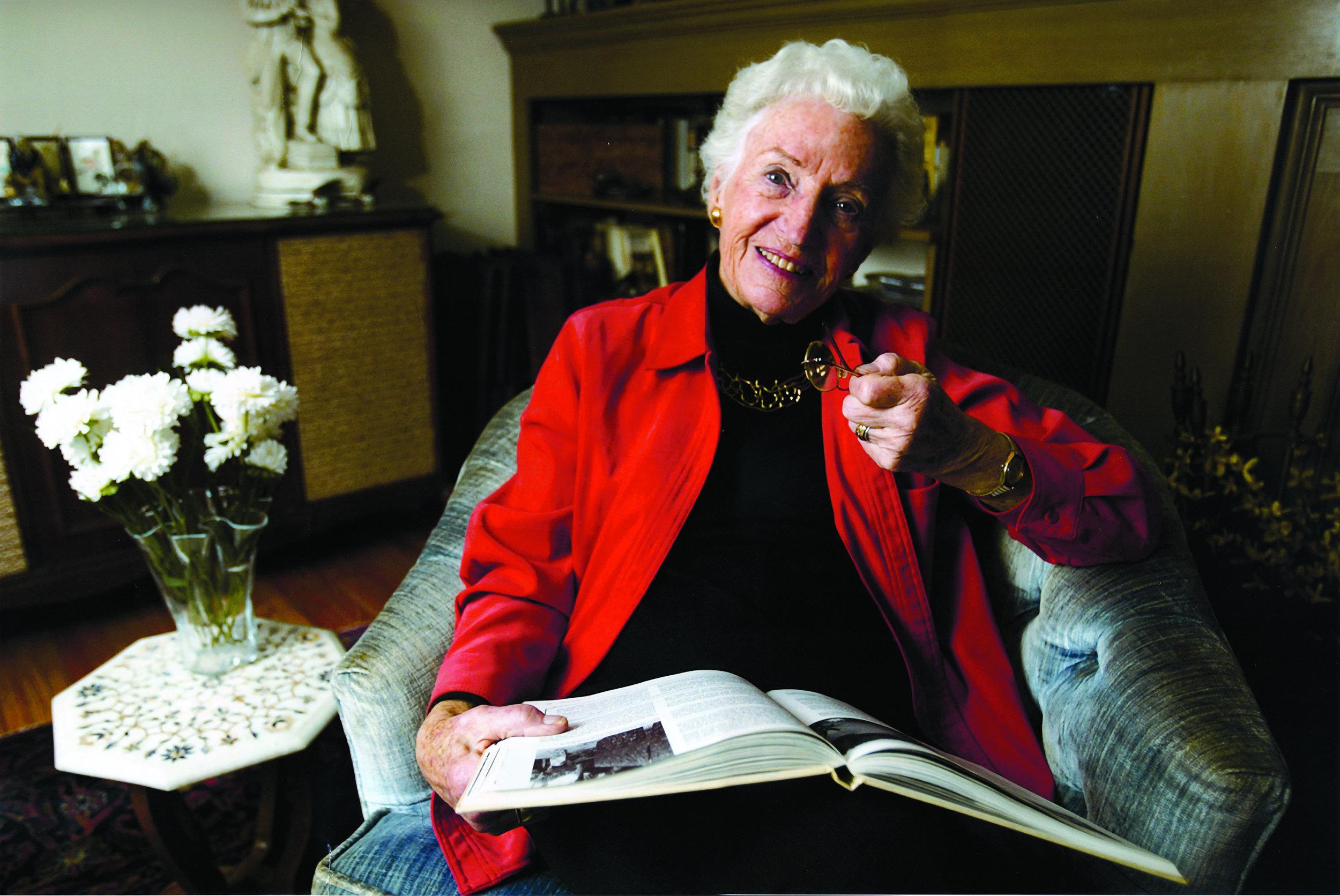 Ruth Johnson Colvin (Photo by Le Moyne College)
