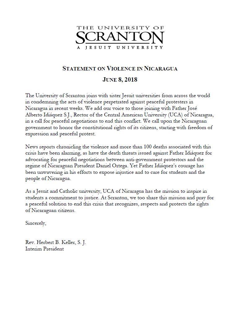 University of Scranton (Scranton, PA)