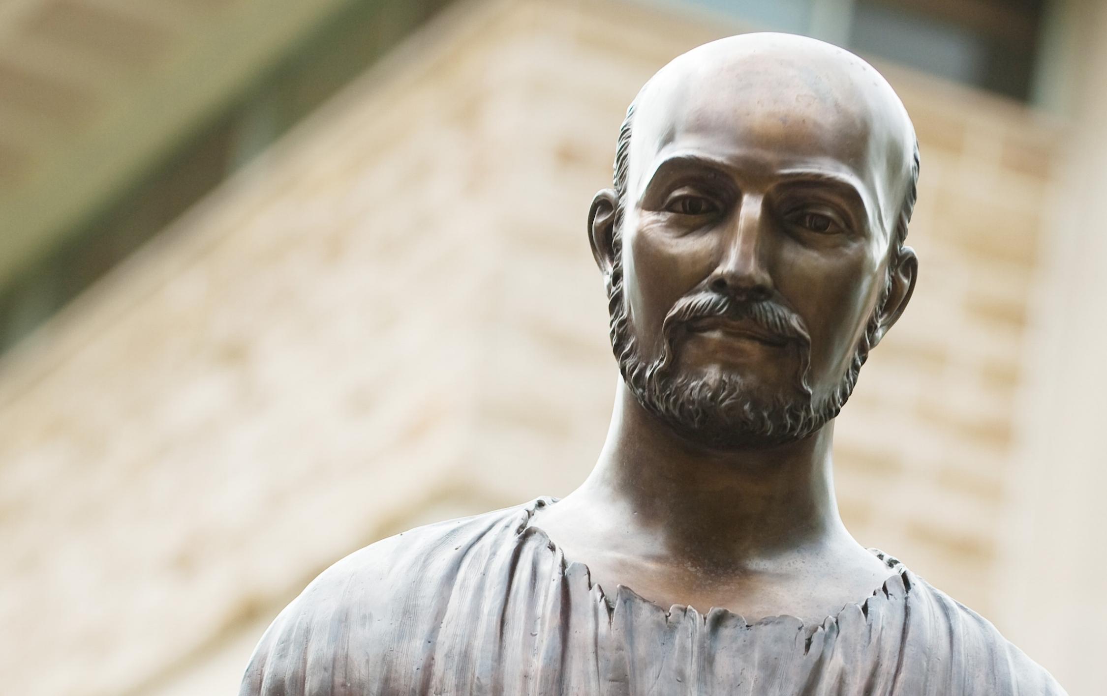 Statue of St. Ignatius Loyola (Photo by rockhurst University)