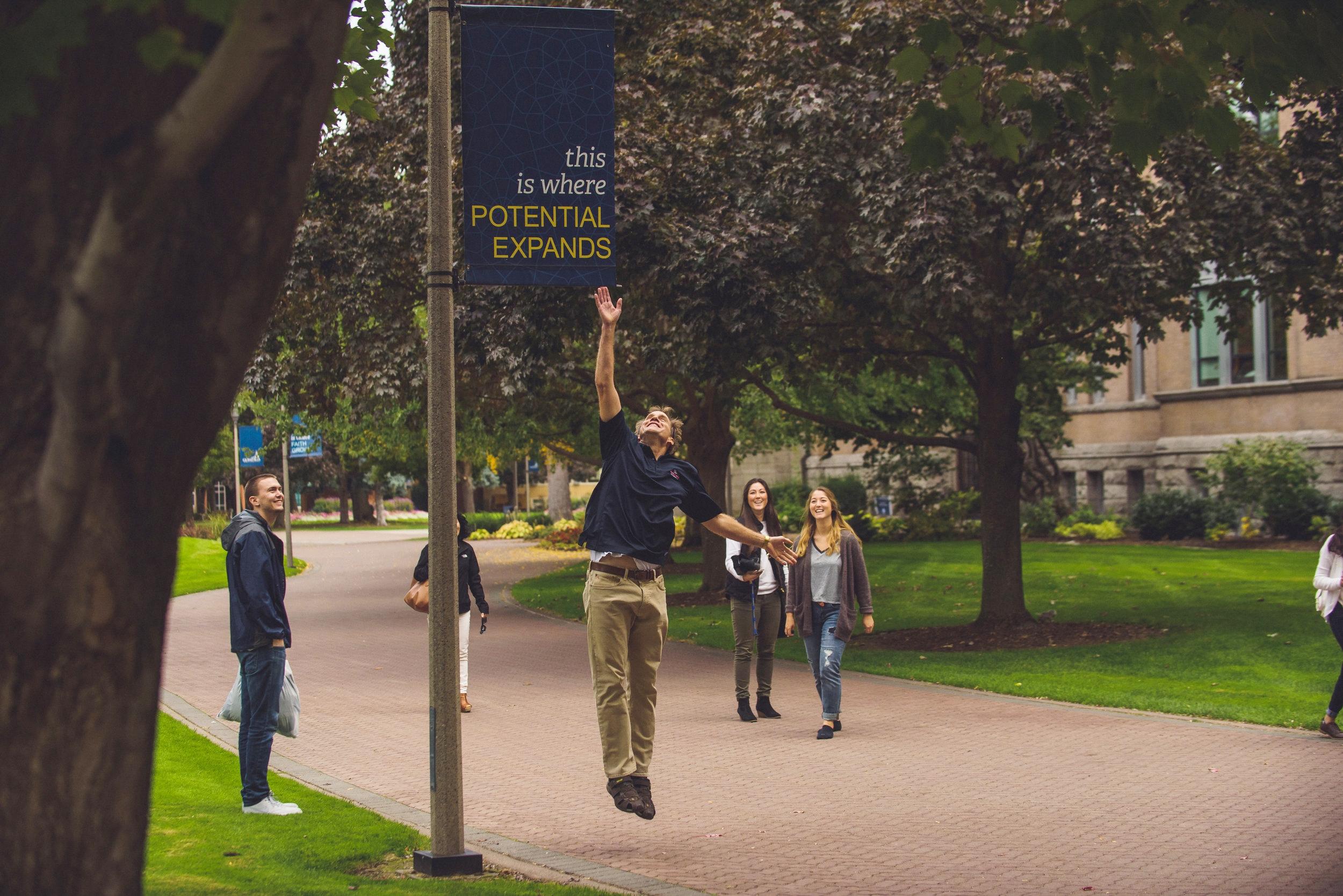 Students at Gonzaga University (photo by Gonzaga University)