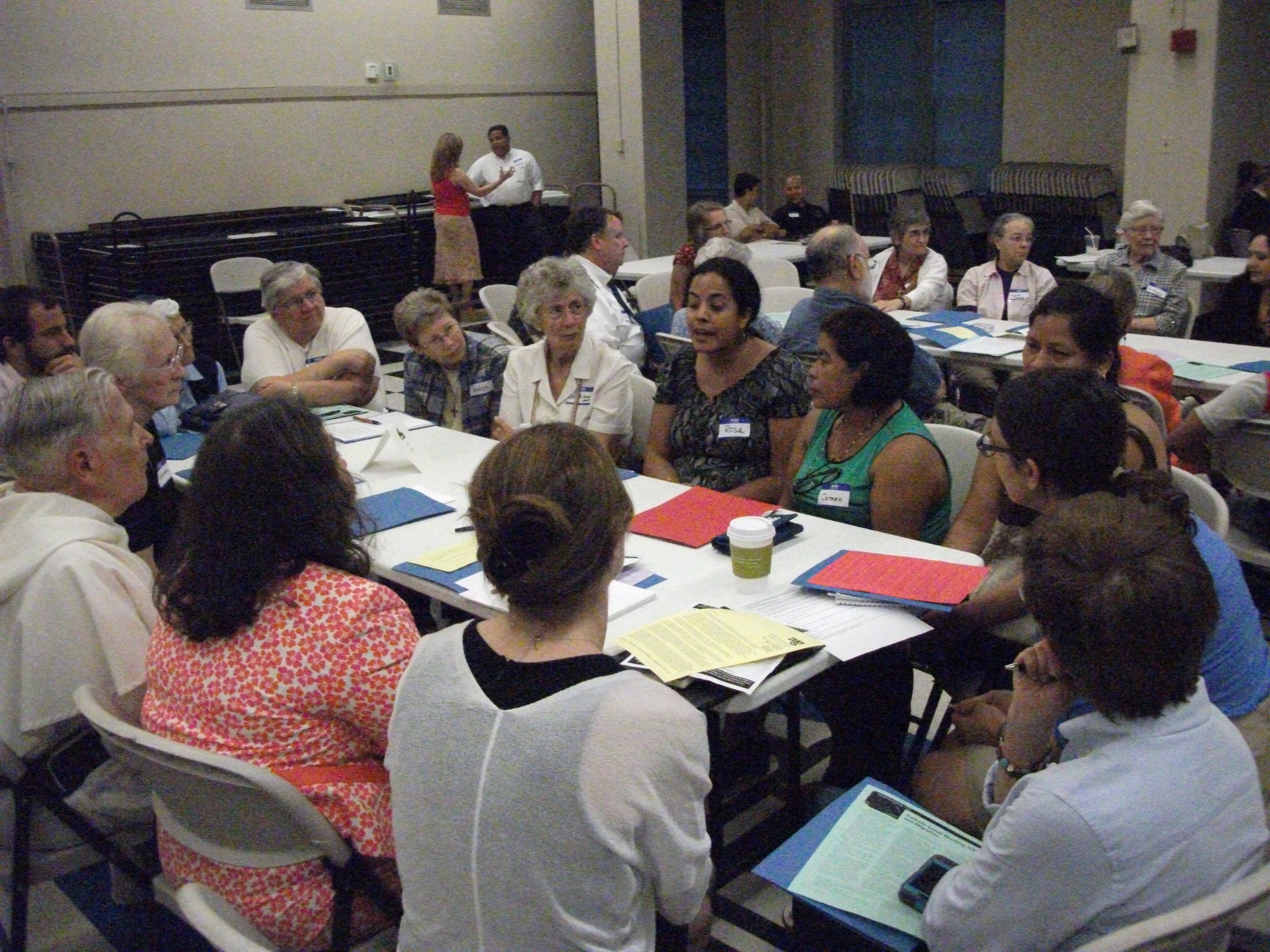 Catholic Teach-in on Migration at St. Anthony of Padua Church in New Orleans in August 2014 (photo by S. Weishar)