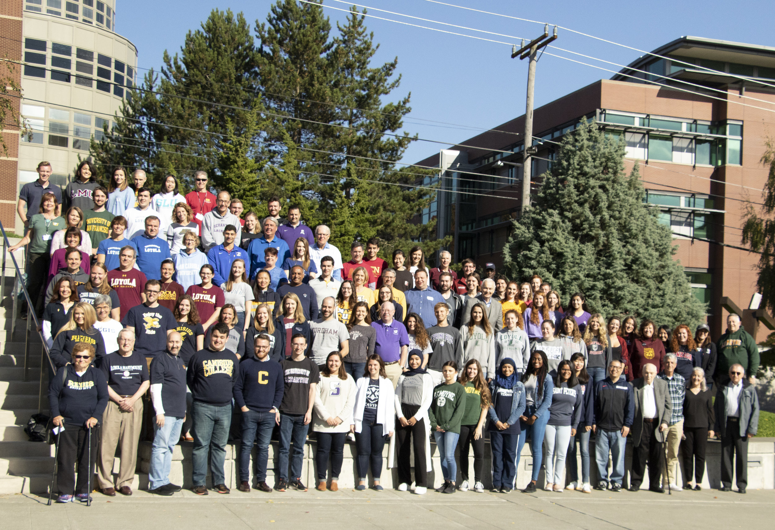 Participants at the 34th Alpha Sigma Nu Triennial at Seattle University (Photo by Alpha Sigma Nu)