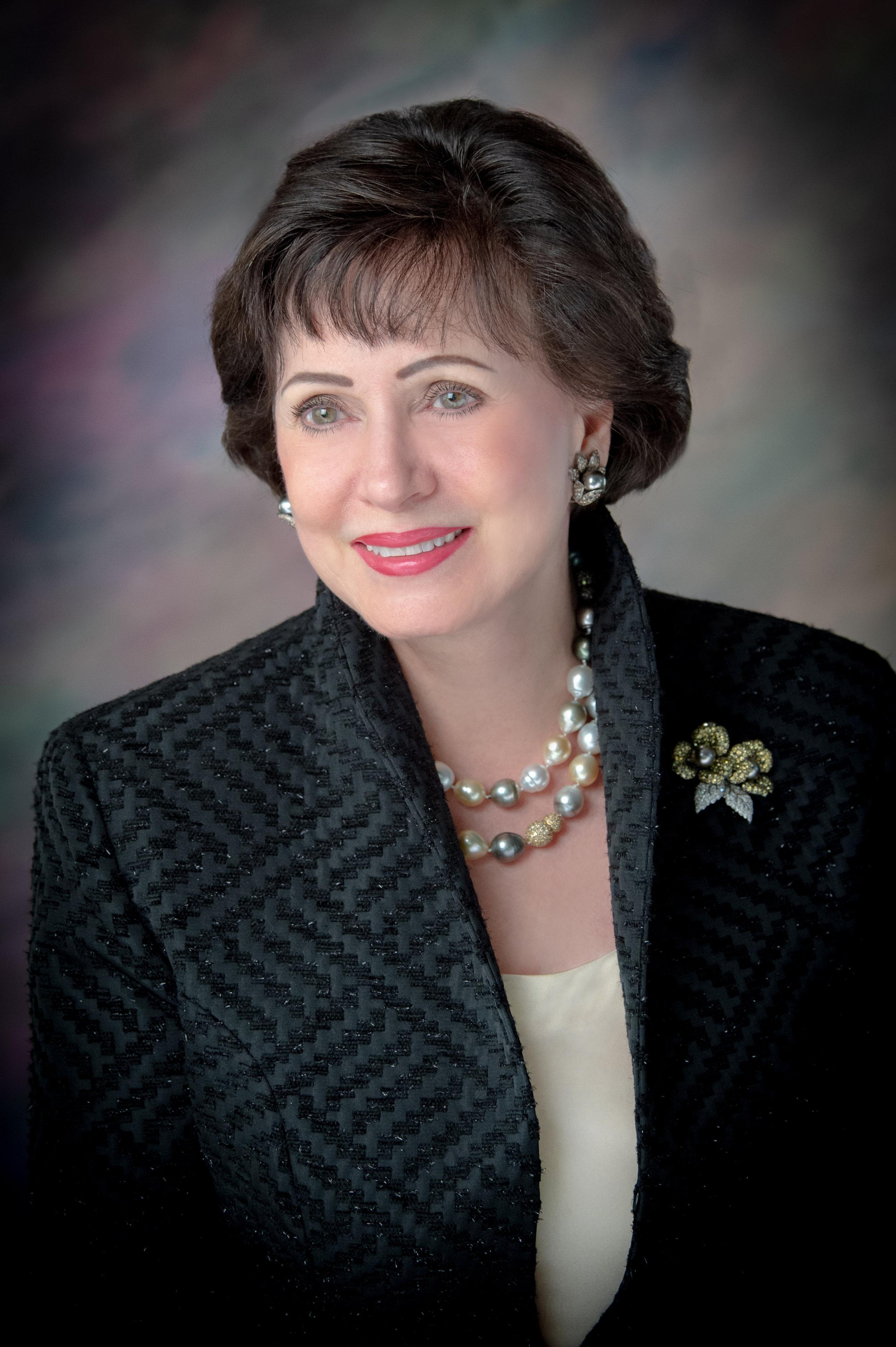 Gayle Benson (photo courtesy of Loyola University New Orleans)