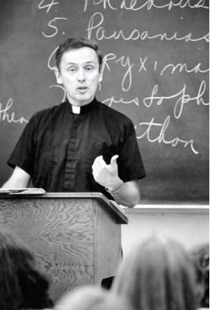 Rev. James O'Brien, S.J. (photo courtesy of Wheeling Jesuit University)